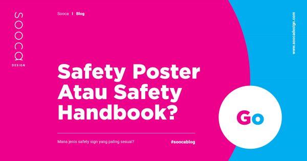 jenis safety sign