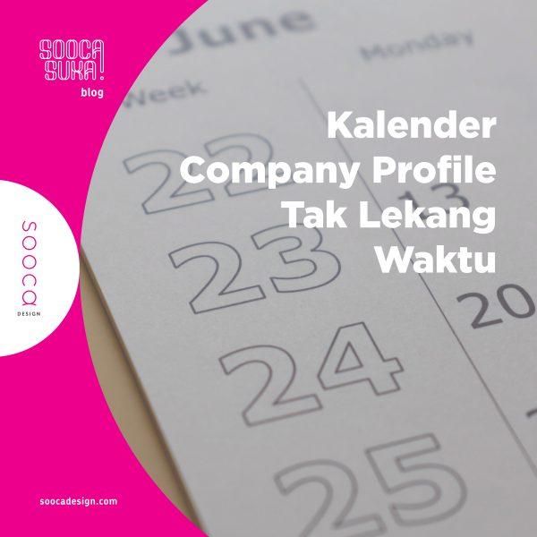 Desain kalender company profile
