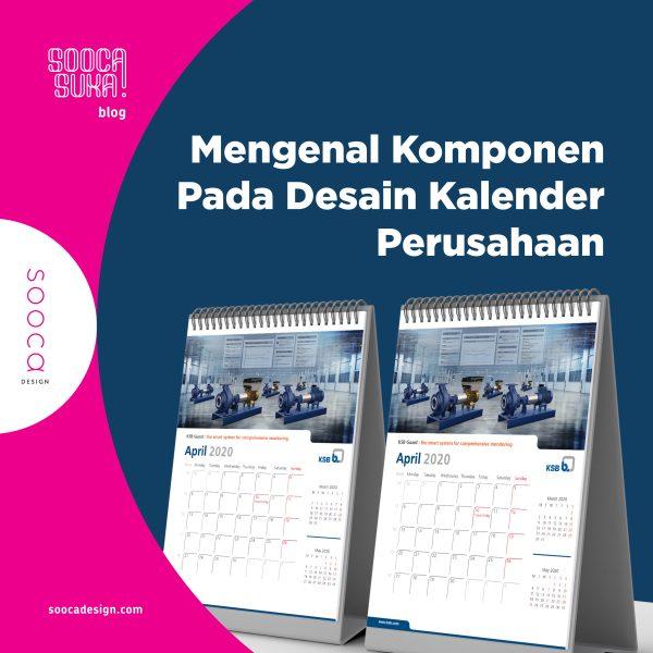 Komponen Desain Kalender Perusahaan