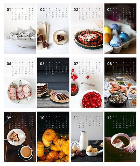 Inspirasi Desain Kalender Tahun 2021, Dijamin Fresh & Unik!
