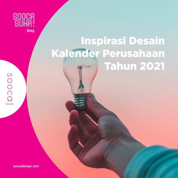 inspirasi desain kalender tahun 2021