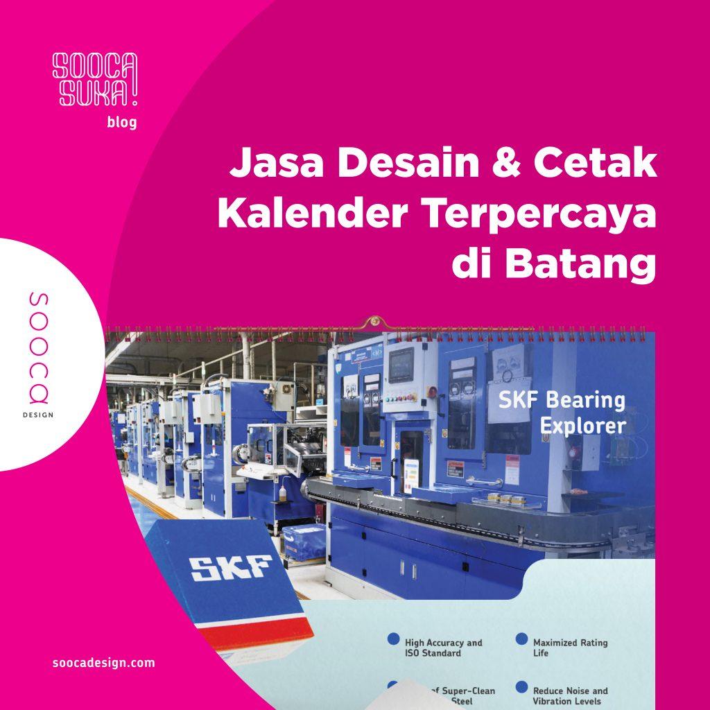 jasa desain & cetak kalender terpercaya di Batang