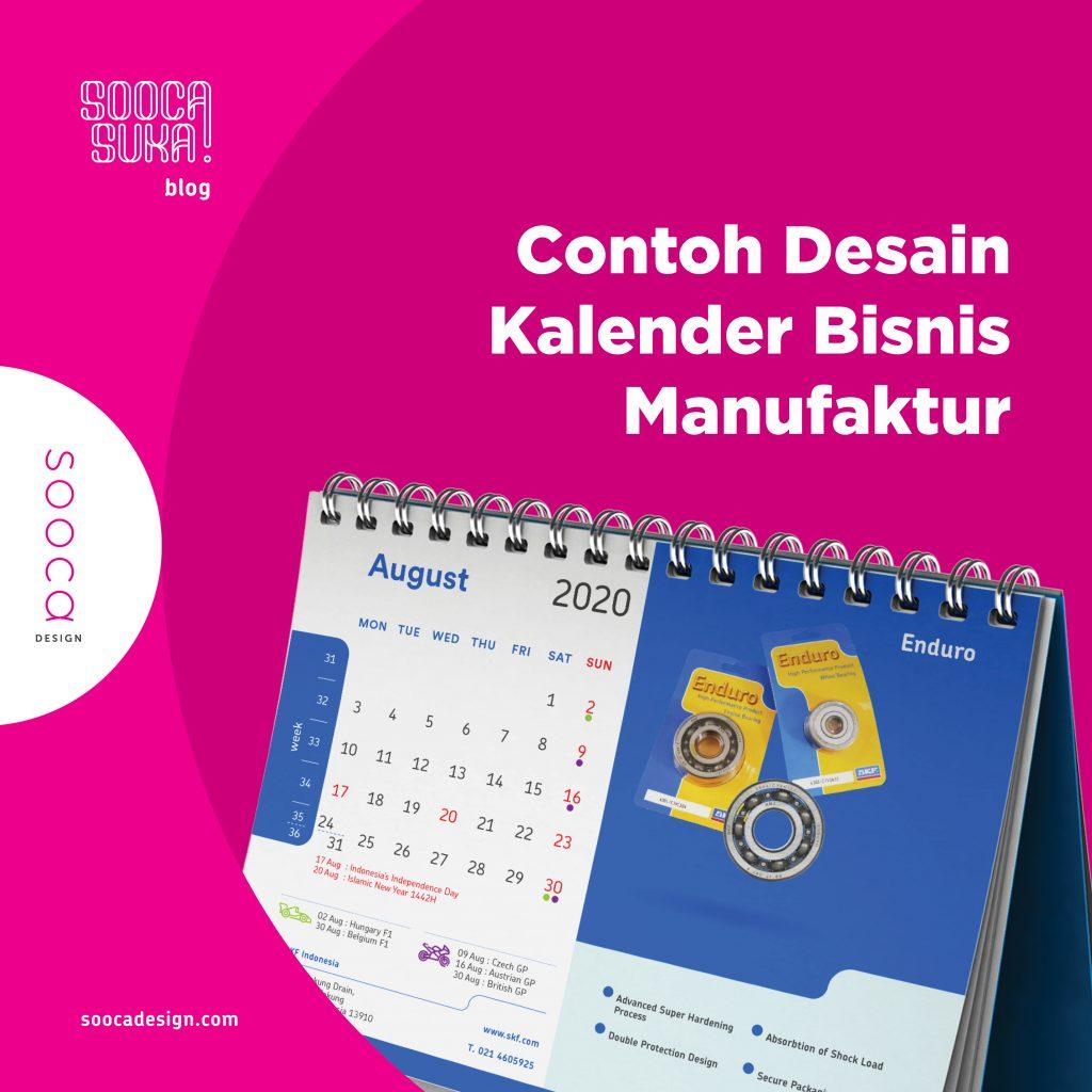 jasa desain kalender bisnis manufaktur