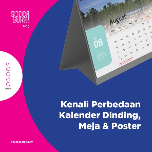 perbedaan kalender dinding, kalender meja & kalender poster