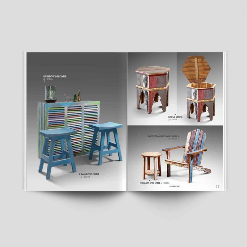 Desain Katalog Produk – JJ Furniture