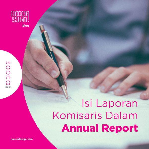 Isi laporan komisaris dalam annual report