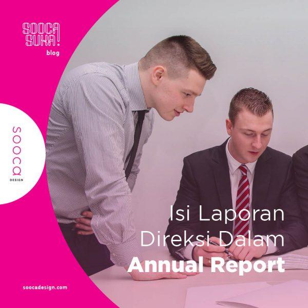apa saja isi laporan direksi dalam annual report