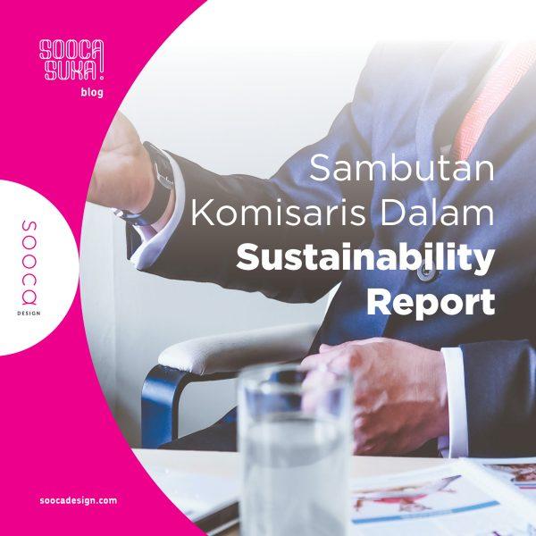 sambutan dewan komisaris dalam sustainability report