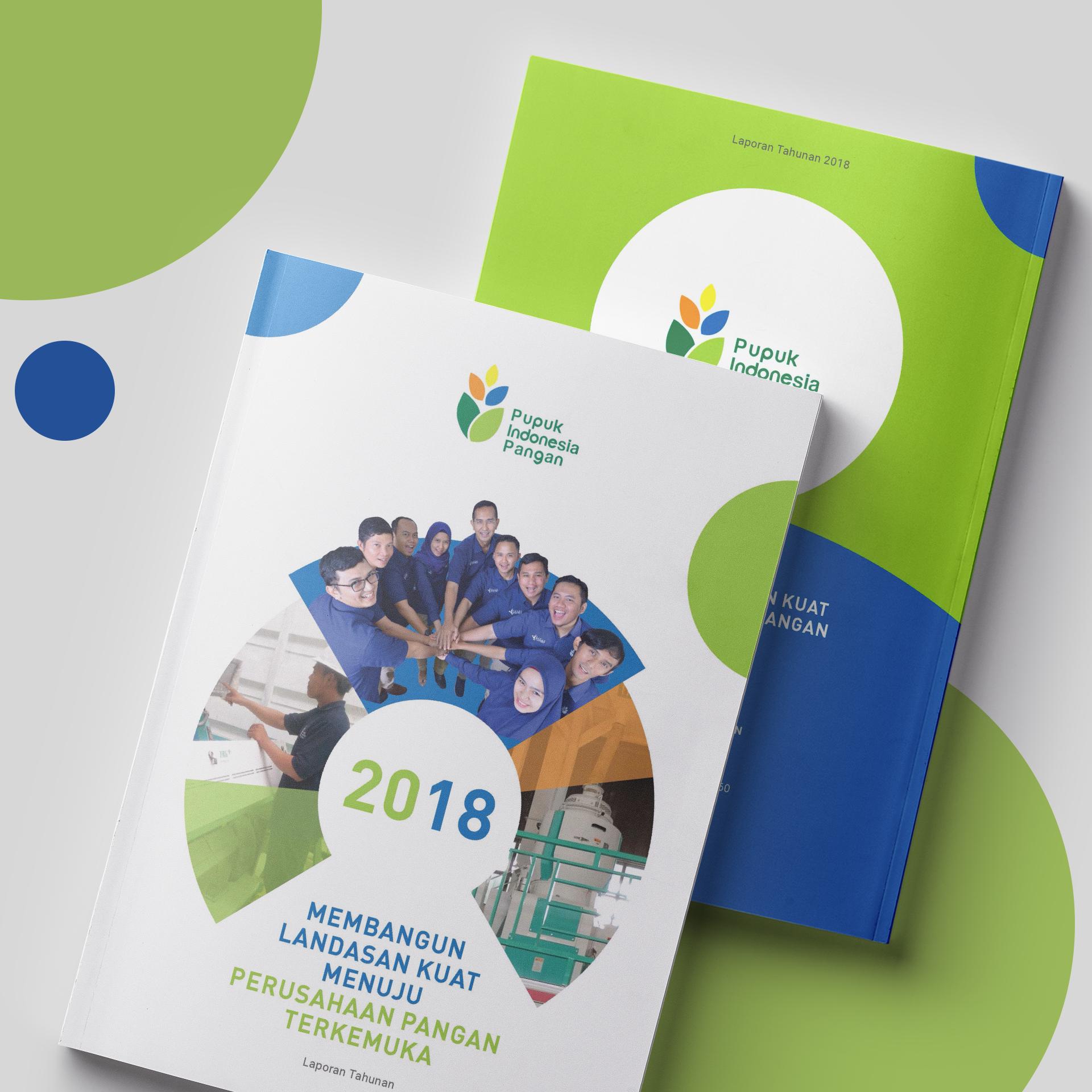 Annual report PT Pupuk Indonesia Pangan
