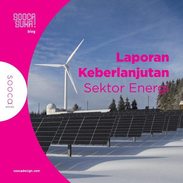 penyusunan laporan keberlanjutan sektor energi