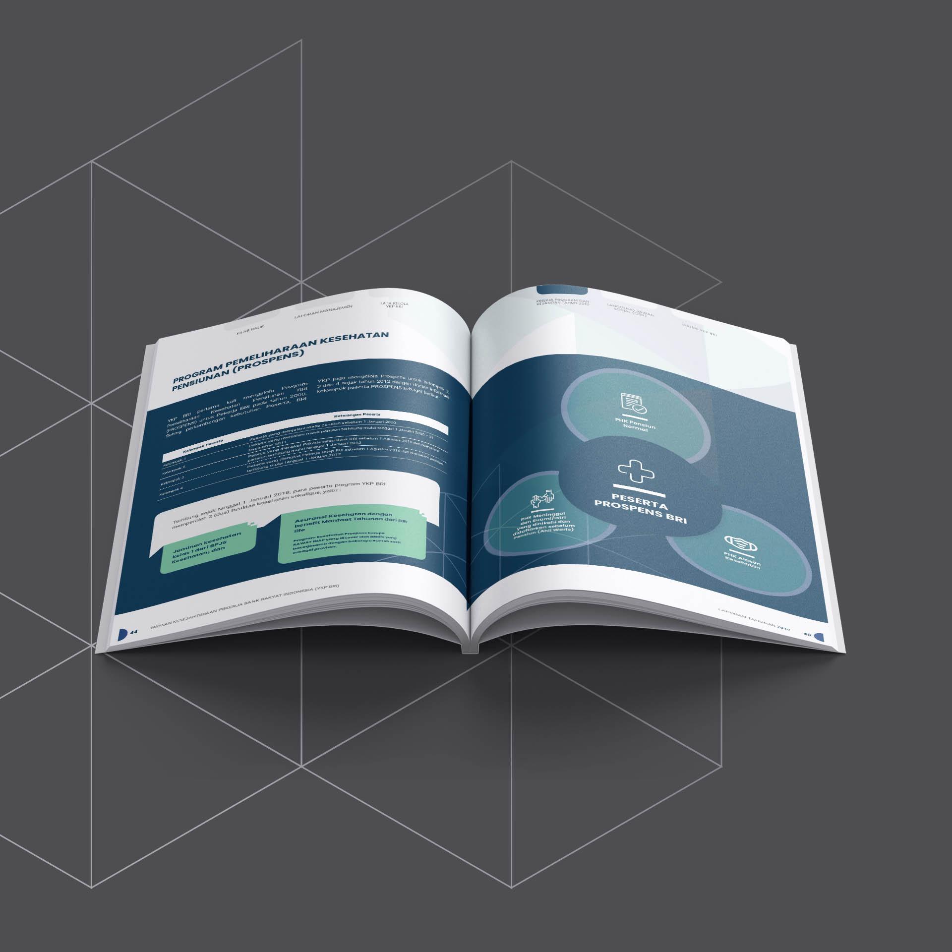 jasa pembuatan annual report YKPBRI 2019