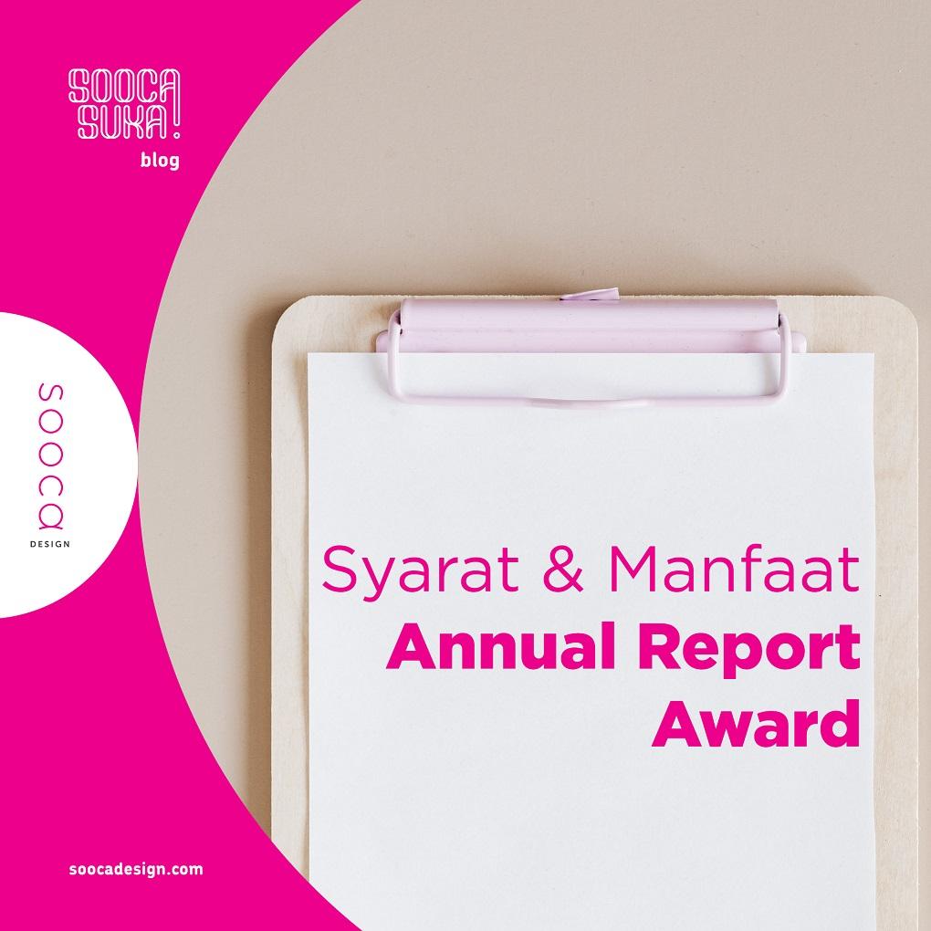 syarat dan manfaat mengikuti annual report award (ARA)